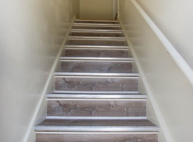 Newly Painted Stairwell After